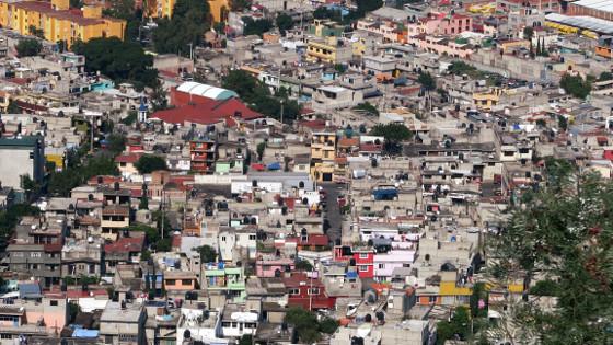 Blick auf Iztapalapa