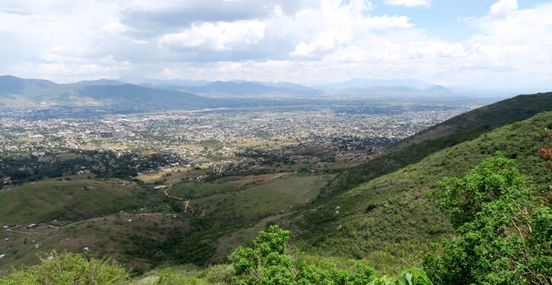 Aussicht Monte Alban - Alebrijes aus Arrazola - Wo Träume Wirklichkeit werden