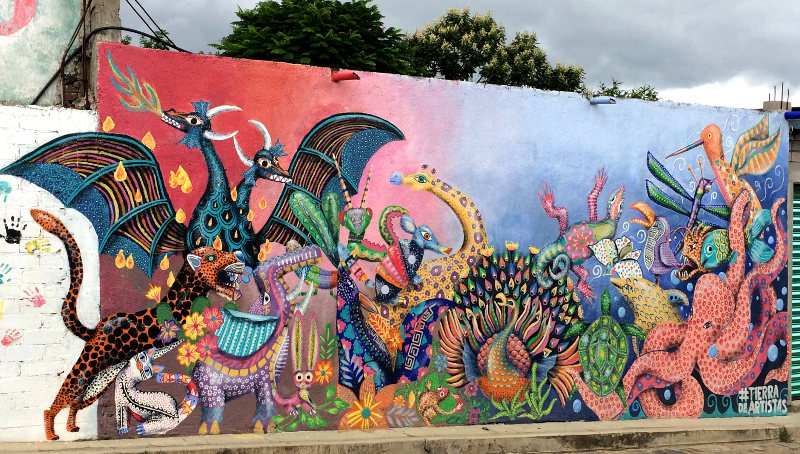Graffiti Arrazola - Alebrijes aus Arrazola - Wo Träume Wirklichkeit werden