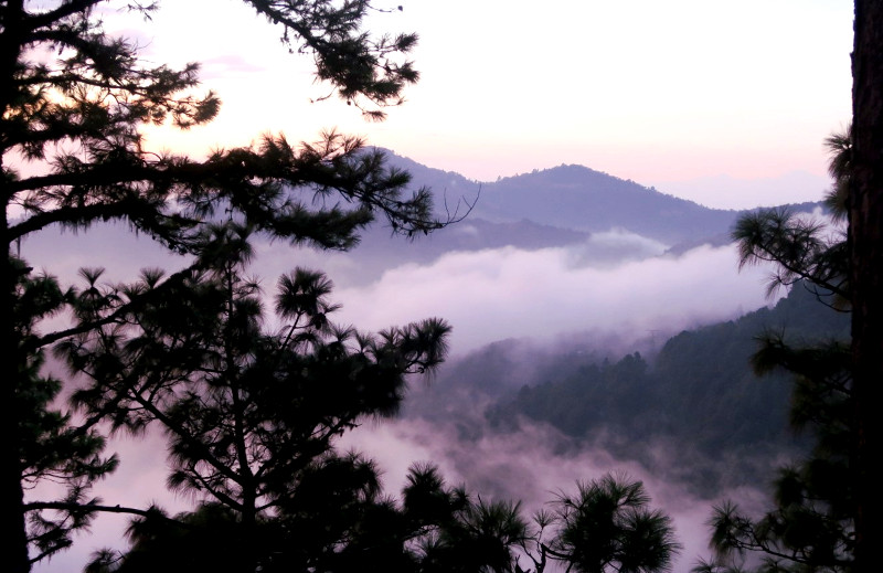 Sunset2 blog - San José del Pacifico - Wolken und Magic Mushrooms