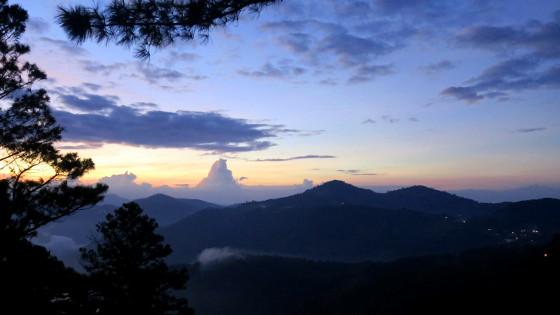 Sunset title - San José del Pacifico - Wolken und Magic Mushrooms