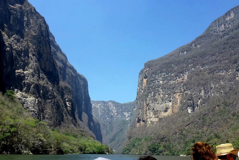 Canon de Sumidero - Zwei Monate Mexiko - Meine Reiseroute
