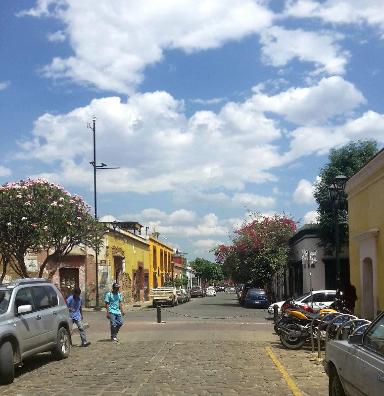 Oaxaca Straße - Zwei Monate Mexiko - Meine Reiseroute