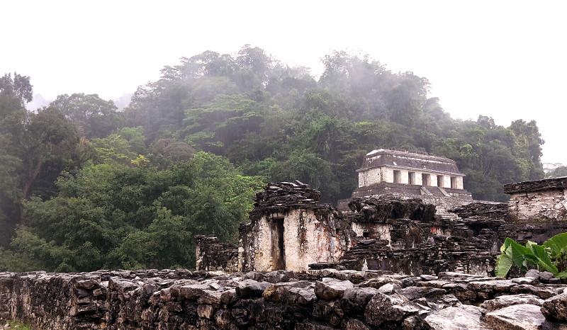 Palenque - Zwei Monate Mexiko - Meine Reiseroute