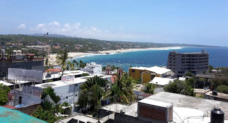 Puerto Escondido - Zwei Monate Mexiko - Meine Reiseroute