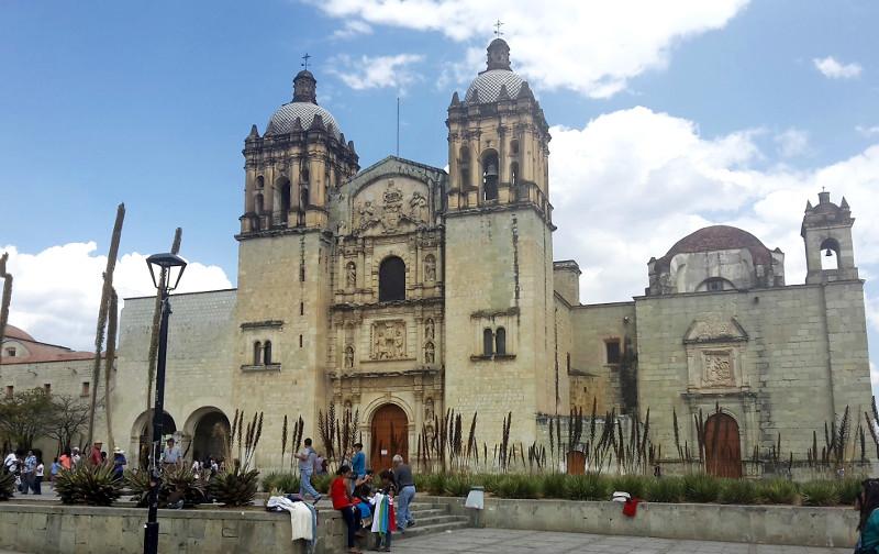 Santo Domingo Kirche - Zwei Monate Mexiko - Meine Reiseroute