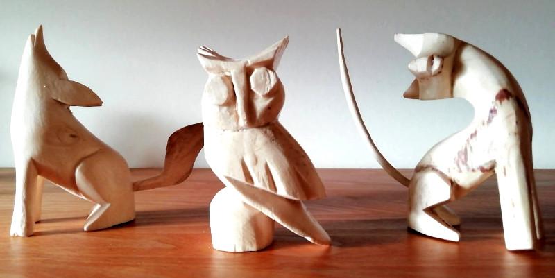 """Alebrijes figures kit 800 - Unser erstes Produkt - Ein """"Paint your Alebrije""""-Set"""