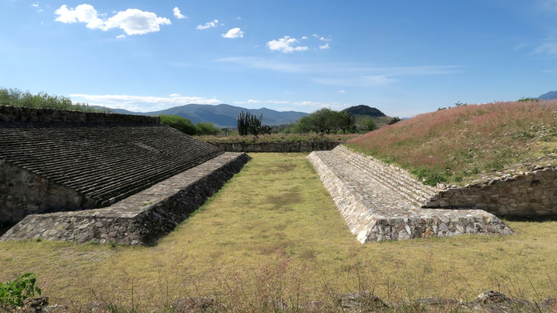 Dainzu blog2 - Archäologische Stätten rund um Oaxaca City - Meine Top 5