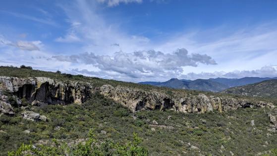Prähistorische Höhlenmalerei in Oaxaca, Mexiko
