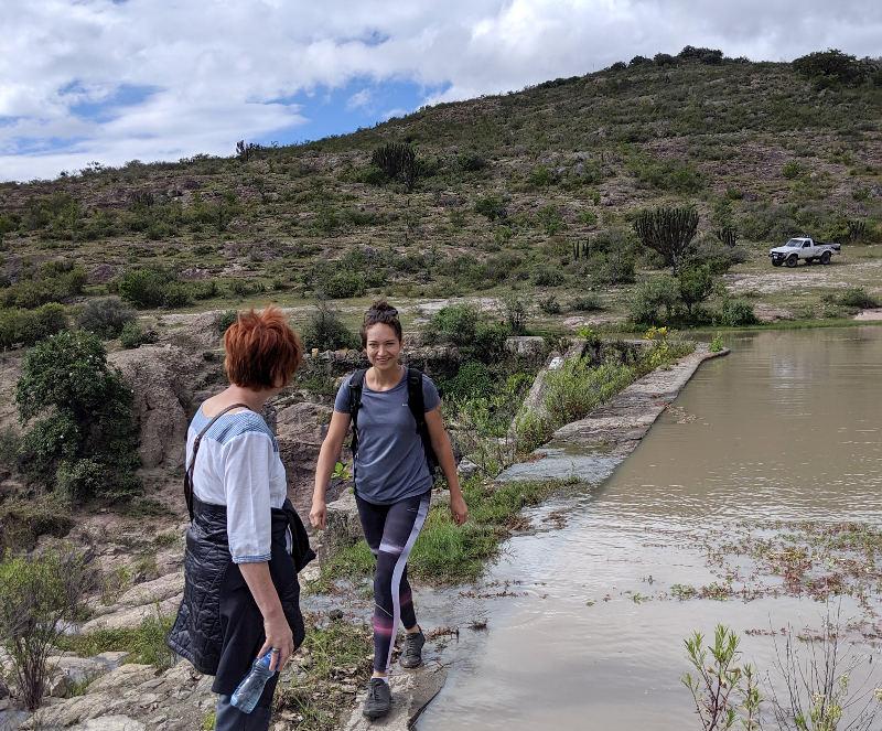 Presa ich - Höhlenmalerei in Oaxaca - Zeitreise in die Welt der Nomaden