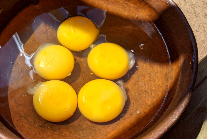 Eier - Rezept Huevos a la Mexicana – Mexikanisches Rührei