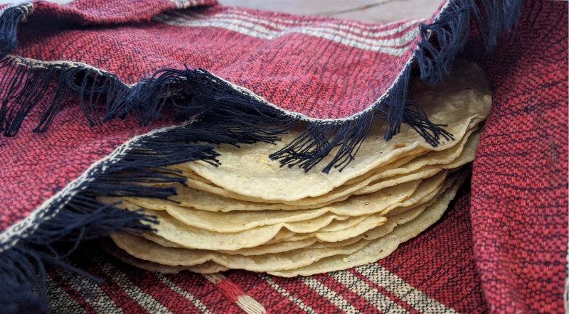 Tortillas - Rezept Huevos a la Mexicana – Mexikanisches Rührei